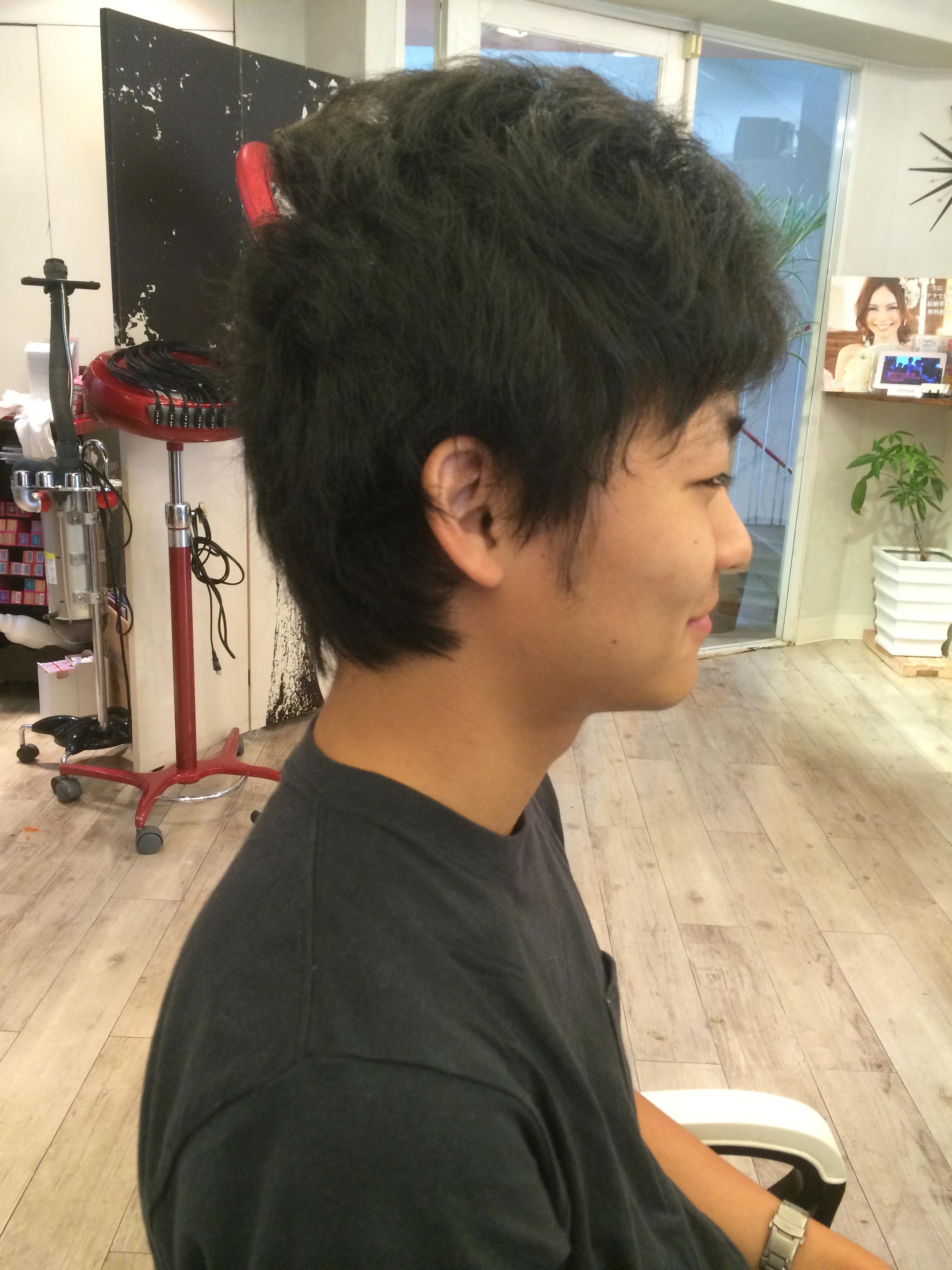 理容室,髪型,写真